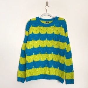 URBAN OUTFITTERS | Sparkle & Fade Striped Sweater